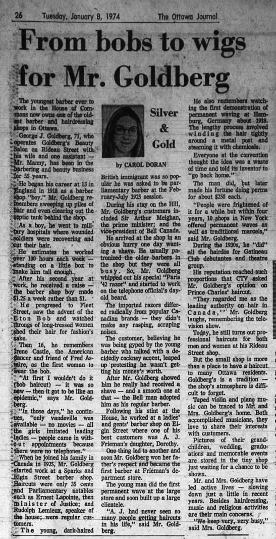 - 26 Tuesday, January 8, 1974 The Ottawa Journal...