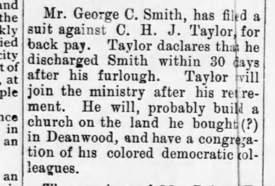 1896-07-11-WashingtonBee-p5-[TaylorItem] - and the died city of at in an an Mr. George C....
