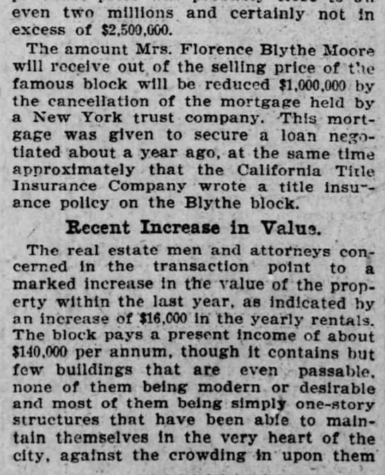 1901-06-09 SF Call - , ' . ¦ ; , , even two: millions' and'...