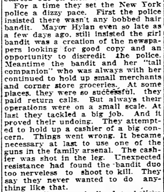 Bobbed-Hair Bandit Summarized - government the LaFollette and sail P- to has...