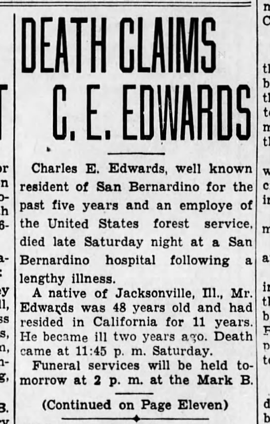 - 26-year-old Charles E. Edwards, well known...