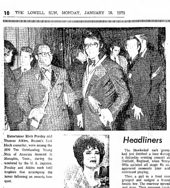 jaycee mo - 10 THE LOWELL SUN, MONDAY, JANUARY IS, 1971...