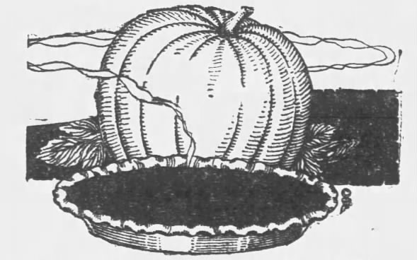 Pumpkin pie image, 1921
