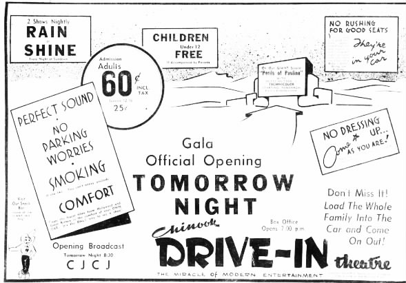 Chinook Drive-In opening