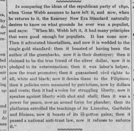 Republicans 1902 Neb. - do republican of up If do In comparing tho...