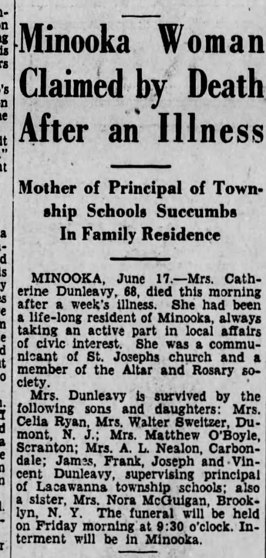 06181930 - s Minooka Woman Claimed by Death After an...