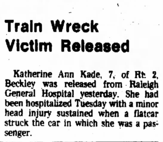 kathy train car 2 - housing ~ Train Wreck Victim Released Katherine...