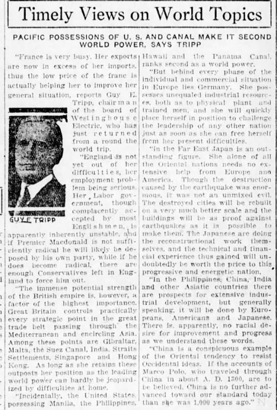 content2 in 1924 - Timely Views on World Topics PACIFIC...