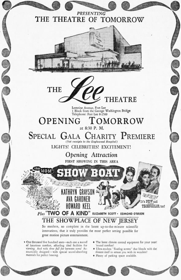 Lee Theatre opening