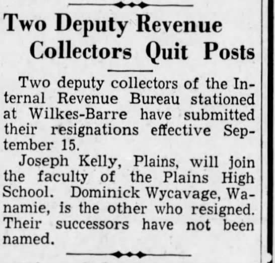Dominick Wycavage