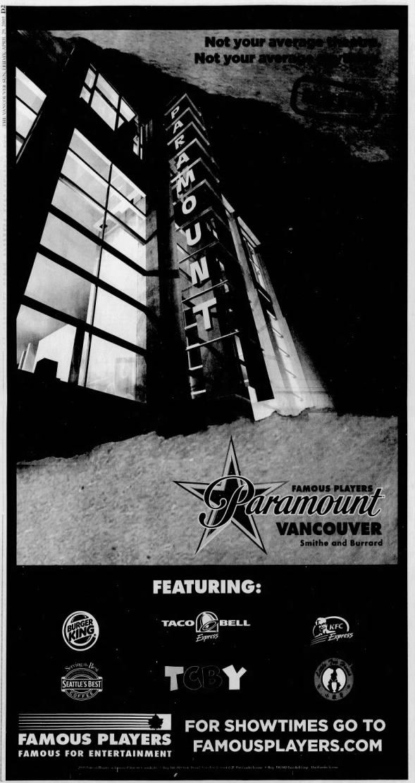 Paramount theatre opening