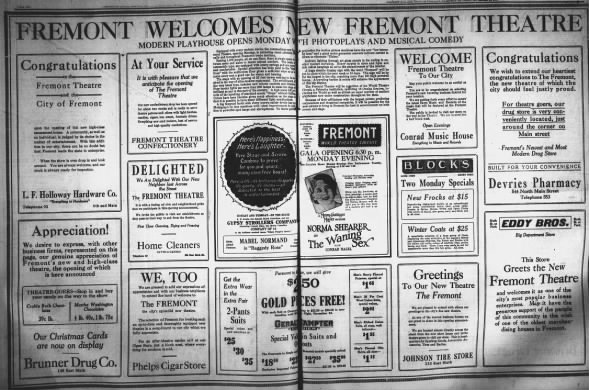 Fremont Theatre opening