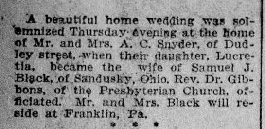 Angus C Snyder - A beautiful home wedding was sot - Tsmnizfed...