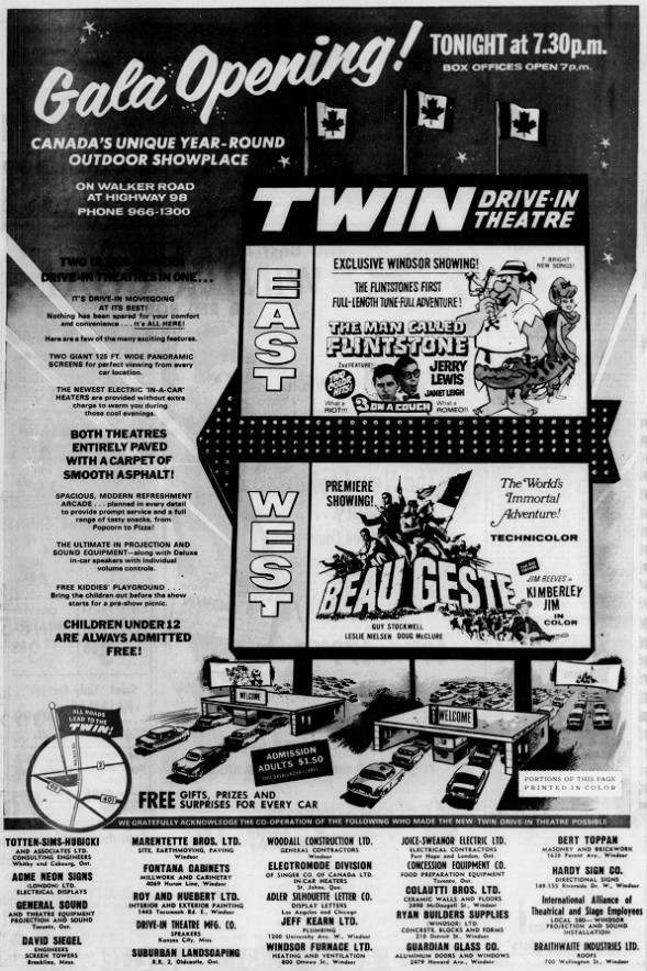 Twin Drive-In opening