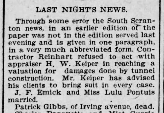 The Scranton Truth