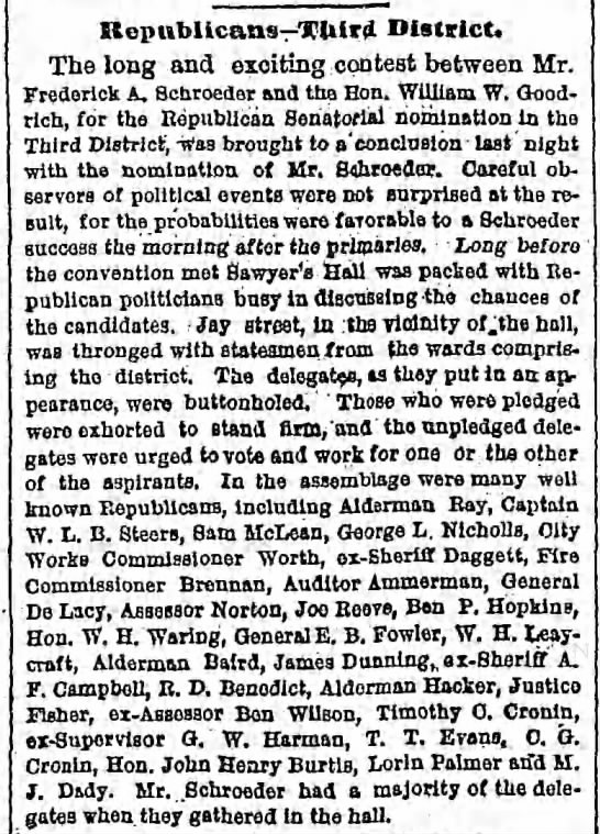 Tuesday, October 21, 1879 - Page 2 - Kepubllcans TUird District. The long and...