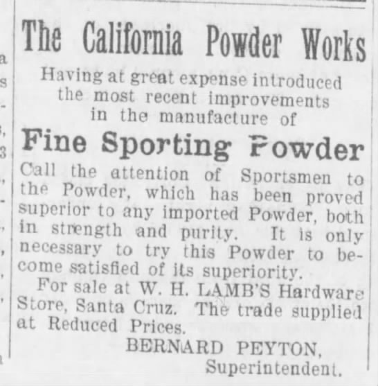 Sporting Powder SC Ev Sent 2-2-1897 - a at-torneys-at-law, 3 Trin flnUf: n J nr , ;...