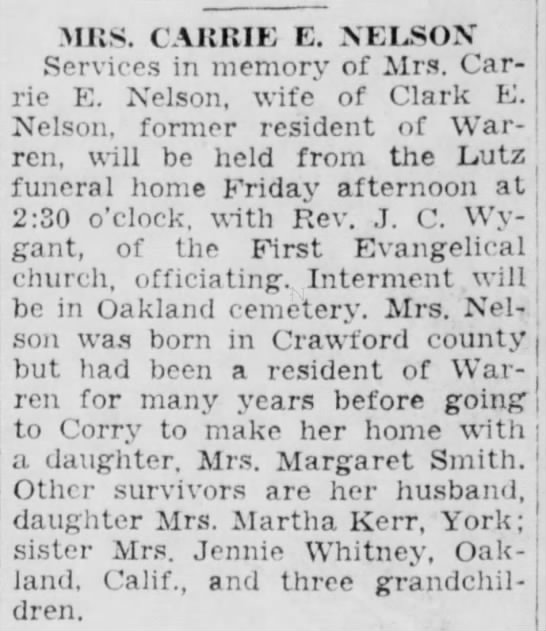 Warren Times Mirror (Warren, Pennsylvania)  