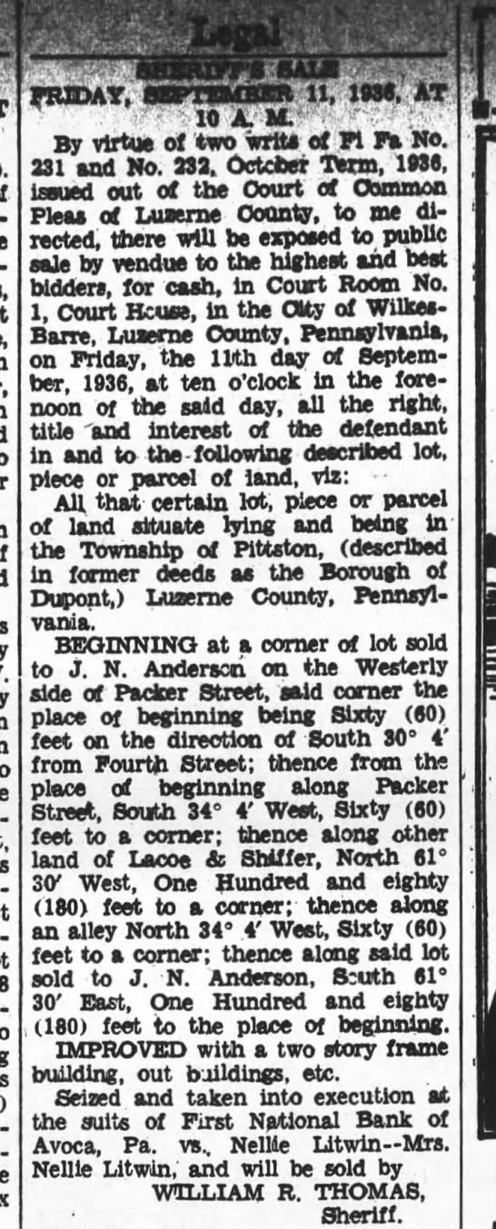 - - - - - FRIDAY. SEPTEMBER 11, 1936, XT Vr - .10...