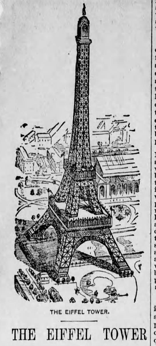 The Eiffel Tower - THE EIFFEL TOWER. THE EIFFEL TOWER