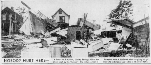 Liberty Tornado Damage