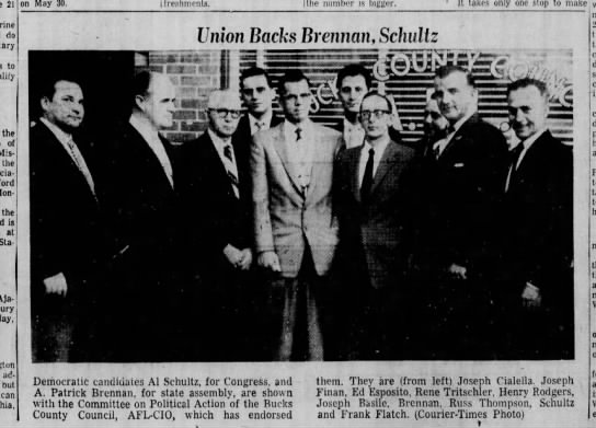 Joseph Cialella democratic candidates 5.3.1958 BDC picture - do to the of Missiles the Monday. the is at...