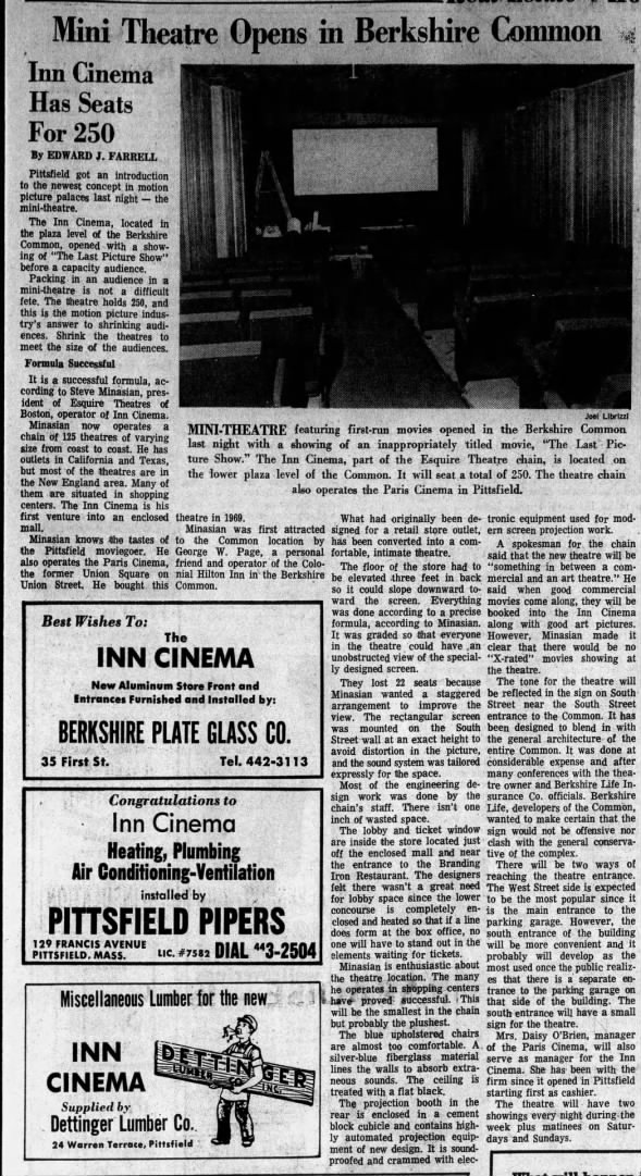 Inn Cinema opening
