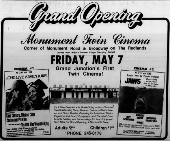 Monument Twin Cinema opening