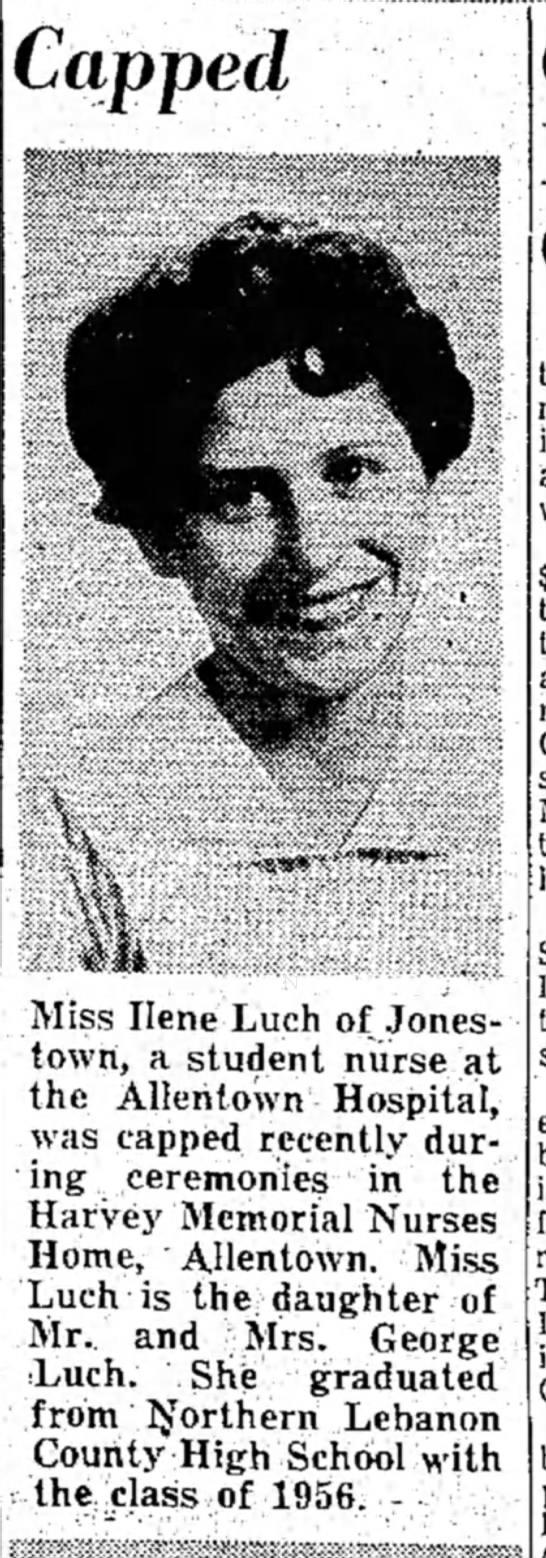 Ilene luch  Capped - Capped Miss IleneLuch of Jonestown, Jonestown,...