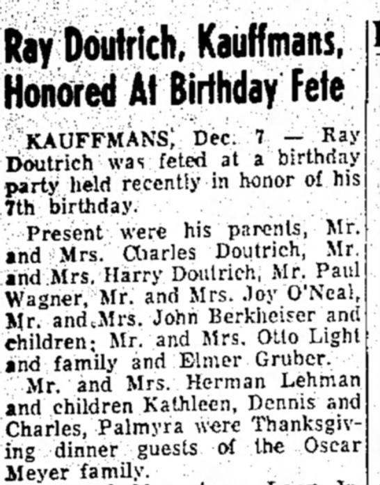 Doutrich and Kauffman