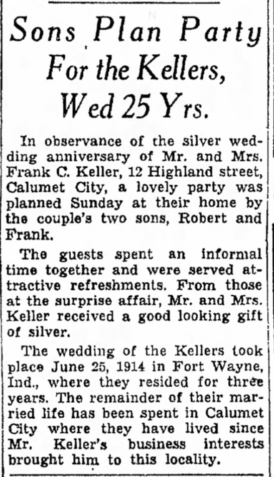 The Times: 27 June 1939 Edition, Page 7 - Legion M6- is Sons Plan Party For the Kellers,...