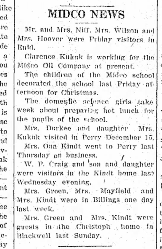 PDJ 12271927 Clarence Kukuk works for Midco