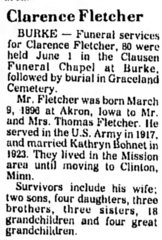 Clarence Alfred Fletcher