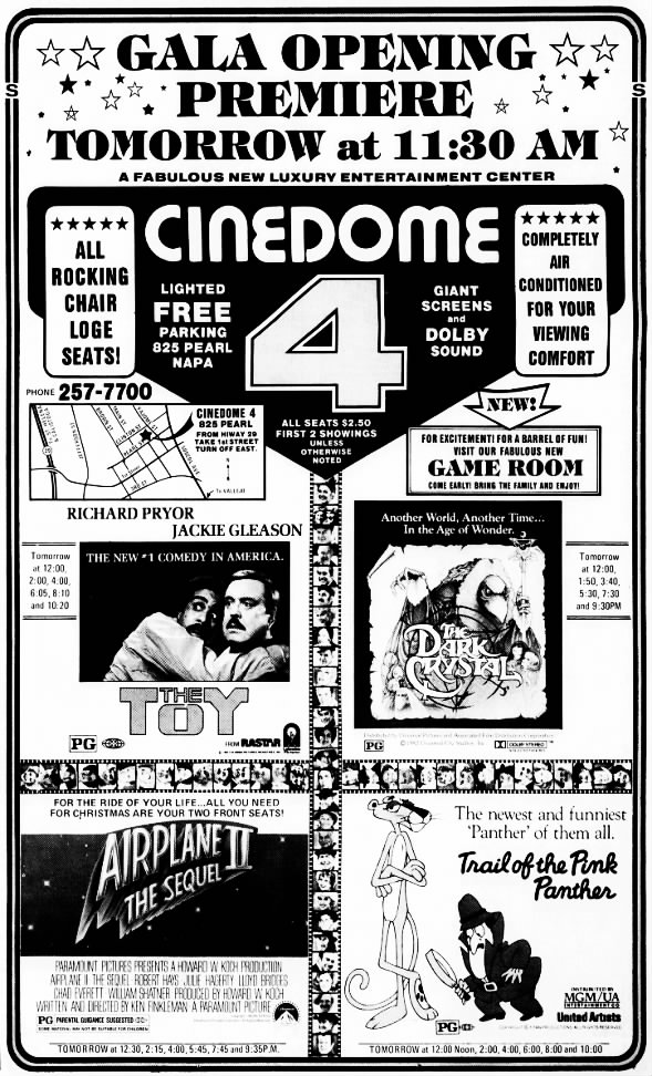 Cinedome 4 opening