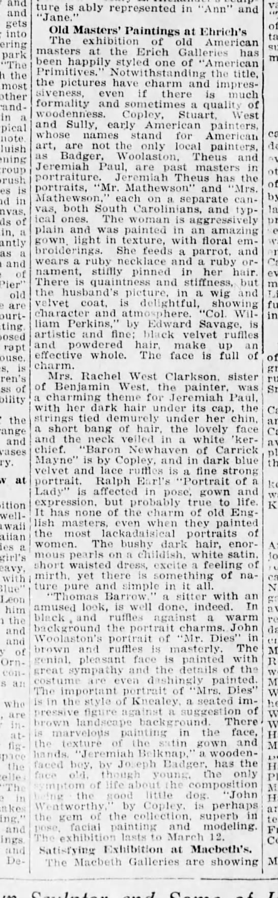"Brooklyn Daily Eagle, Feb. 23, 1919, p. 52 - and and gets into park ""The the almost in a..."