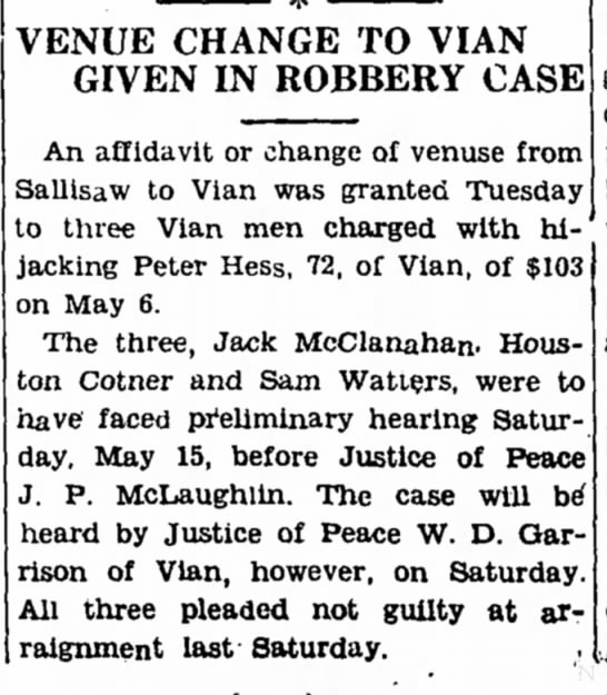 Peter Hess and Houston Cotner
