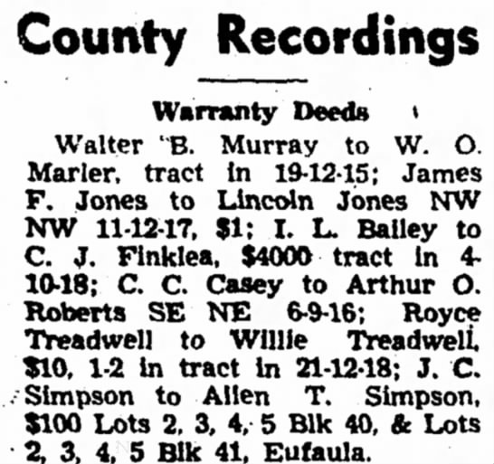 Royce and WIllie Treadwell