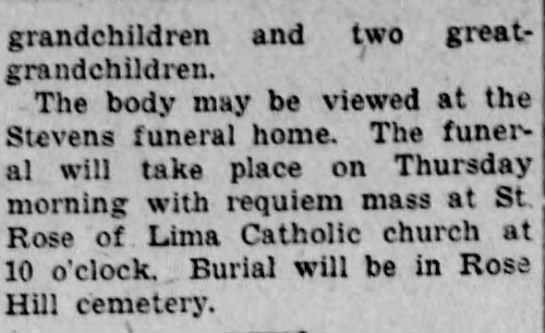 Minerva B Gearhart Smathers - Altoona Tribune (Altoona, PA) 03 Mar 1936 - page 14 - Part 2 - grandchildren and two greatgrandchildren....