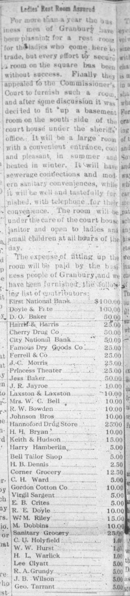 1920 ladies rm at cthouse businesses in Gbury - . l?':fs' t.ul Foora Ajwrsl 1 Vr u.-!- u.-!-...