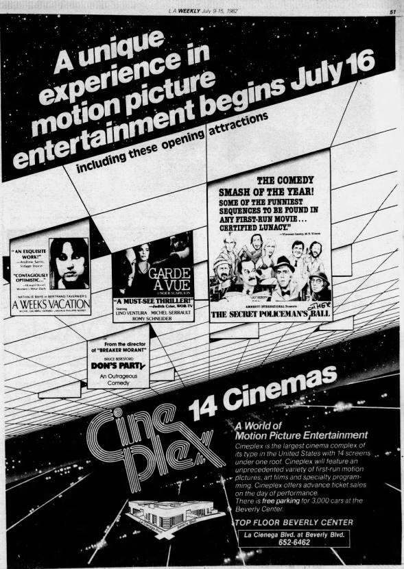 Cineplex 14 - Beverly Center
