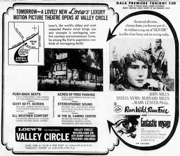 Valley Circle cinema opening