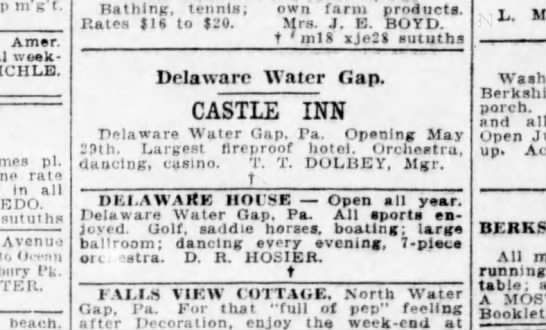 Brooklyn Daily Eagle - 24 May 1924
