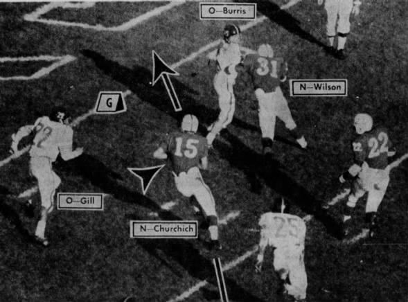 1966 Churchich TD vs Okla. State