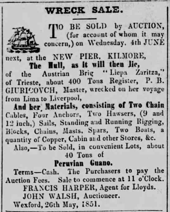 """wreck - WRECK SALS. THO BK SOU) by AUCTION"""", J (for..."""