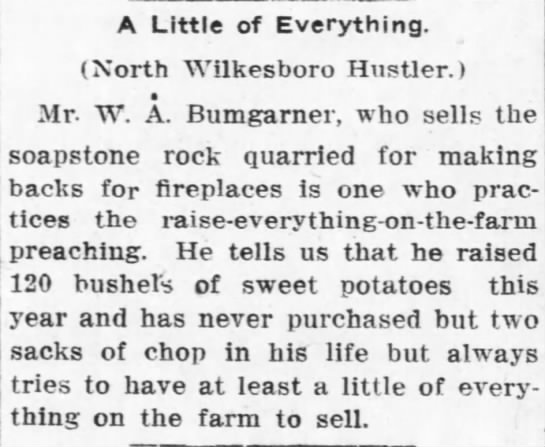The Charlotte News November 21, 1915 Charlotte, NC - A Little of Everything. (North Wilkesboro...