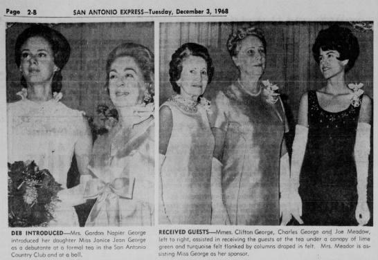 Debutante ball - Meador - Page SAN ANTONIO EXPRESS-Tuesday, December 3,...