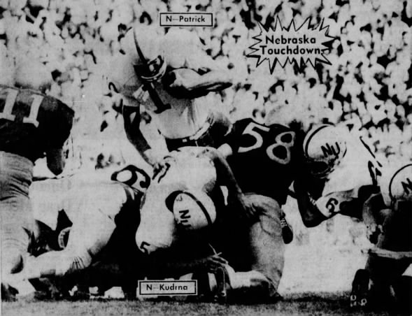 1967 Frank Patrick touchdown vs. Washington