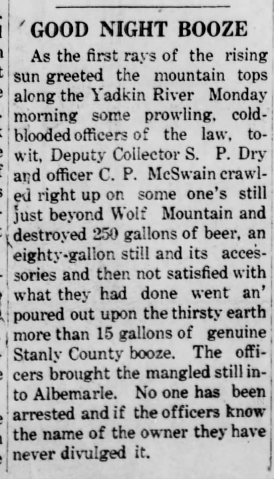 - ! wjt, Deputy Collector S. P. Dry i ! aPa...