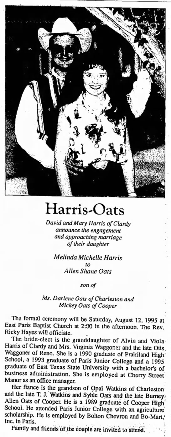Harris Oats