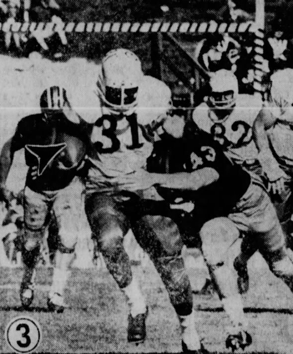 1963 Missouri-Nebraska football, Rudy Johnson
